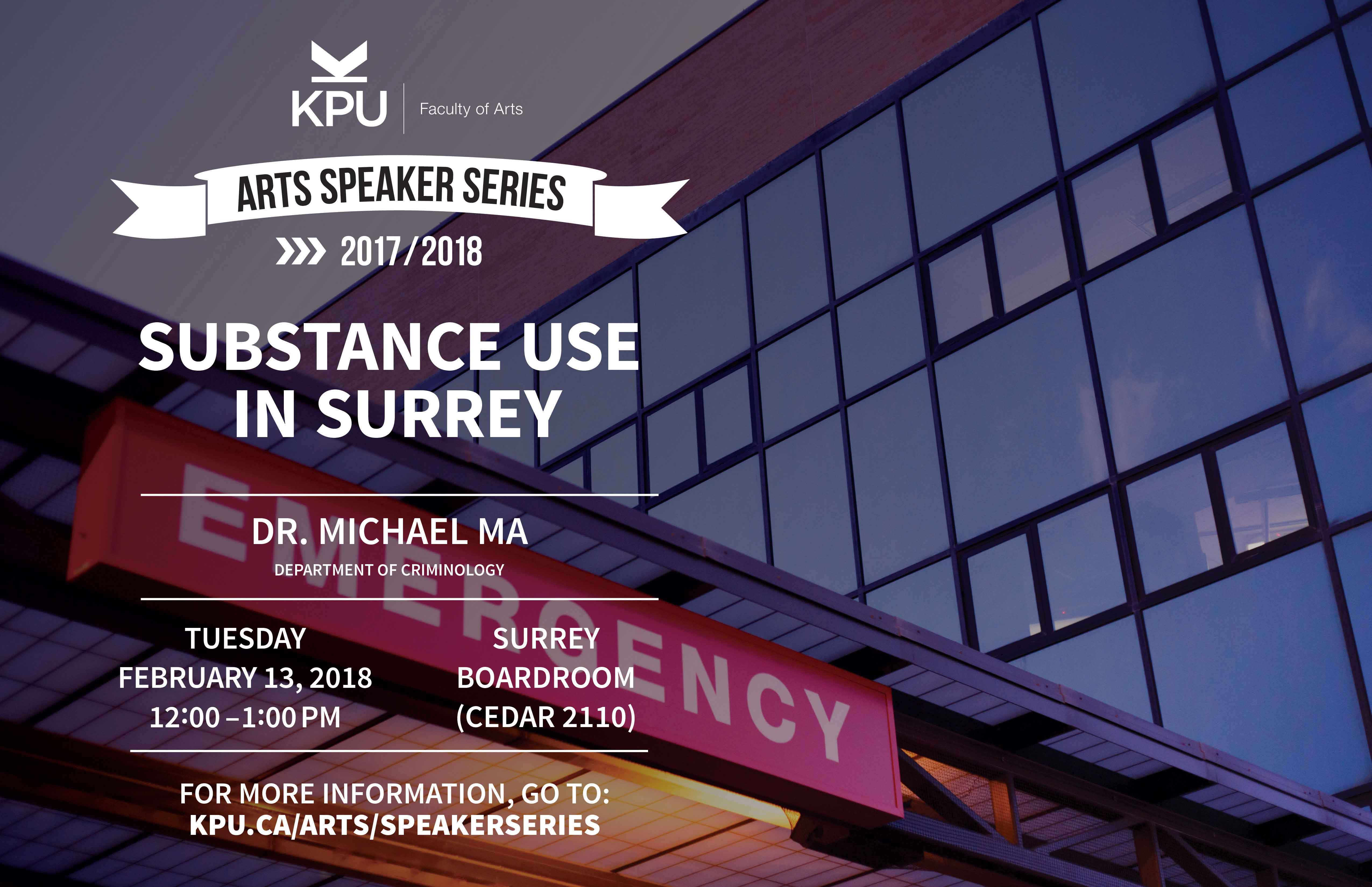 Substance Use in Surrey